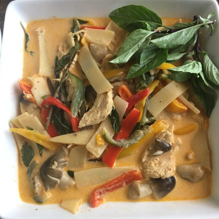 Food: Red Curry Chicken