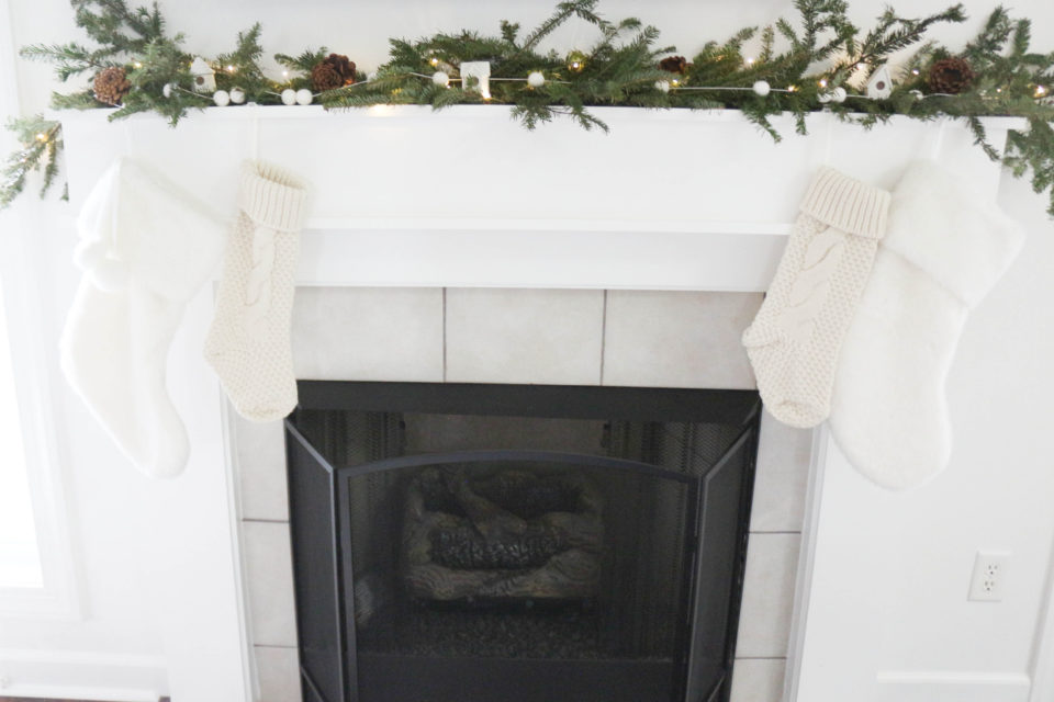 SIMPLE MODERN FIREPLACE REMODEL